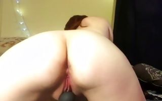 Marvelous young Ex-GF with hot body playing with wet holes
