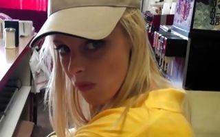 Nasty blonde Ex-GF Karrey Smith insanely fucked in pussy