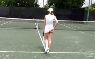 Naughty ex-girlfriend Ella Woods sucking heavy schlong