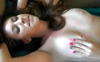 Sensual threesome sex with nasty ex-girlfriend Belle Sparkles