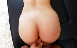 Passionate deep sex with astonishing brunette GF Mitzi