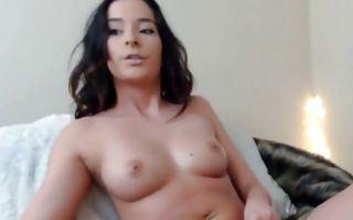 Gorgeous amateur ex-girlfriend masturbating juicy pussy