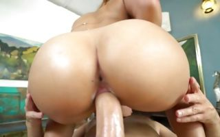 Keilani Kita gets vagina eaten out and slammed with a huge dick