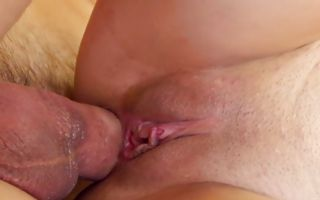 Hot babe Kimberly Costa blowing his dick and gets ass hammered